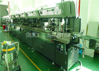 Industrial Baby Bottle Automatic Screen Printing Equipment With Air Dryer