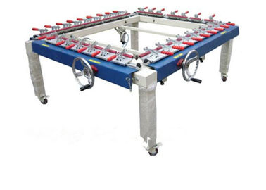 High Precision Auxiliary Equipment Mechanical Screen Tension Machine