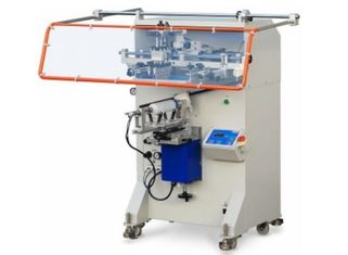 China SX-2A Semi Automatic Bottle Container Tube Silk Screen Printing Machine fournisseur